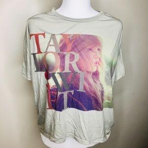 Taylor Swift Hi Lo Band Tee